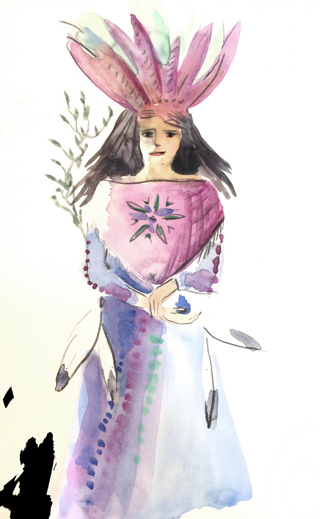 Femme sacree